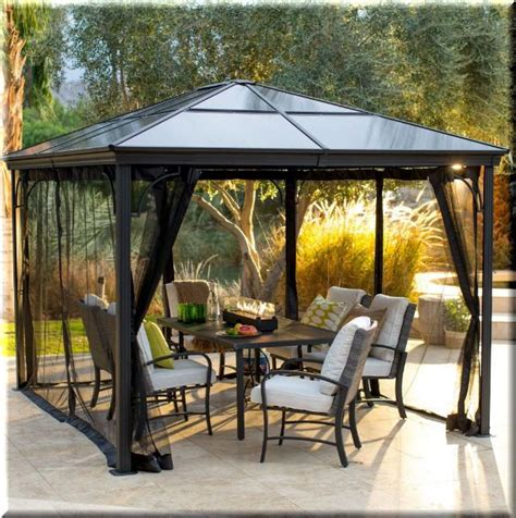 gazebo outdoor curtains 17 best ideas about gazebo curtains on pinterest outdoor