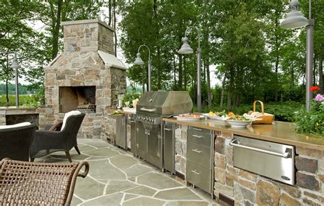 outdoor kitchen ideas and how to site it right traba homes outdoor appliances equipment landscaping network