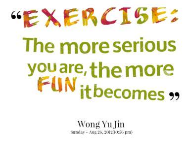 fun exercise quotes quotesgram