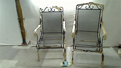 Plantation Patterns Patio Furniture Plantation Patterns Napa 2 Pc Wrought Iron Dynalounge Patio Chair Set In Black Ebay