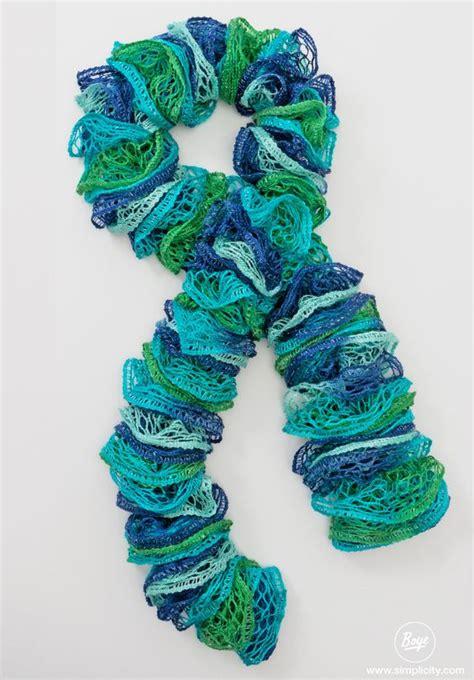 knitting loom scarf boye loom scarf patterns simplicity creative