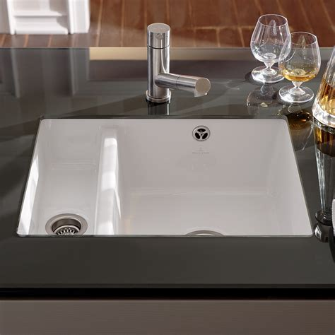 Ceramic Kitchen Sink Villeroy Boch Subway Xu Undermounted Ceramic Kitchen
