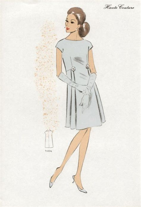 pattern recognition in french 225 best images about fashion illustration 1960s on