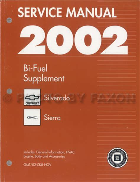service manual auto repair manual free download 2002 chevrolet silverado 2500 free book repair