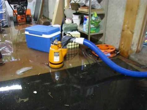 flooded basement cleanup water removal sudbury wayland