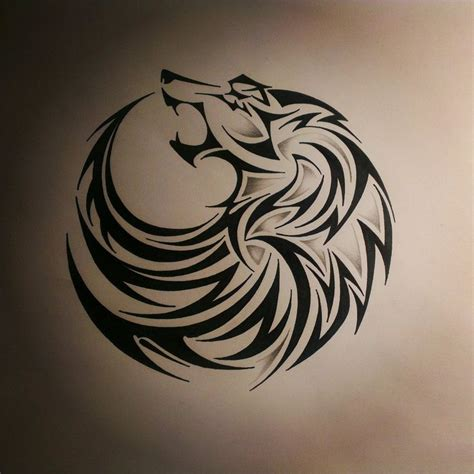 wolf tattoo designs free 1000 1000 ideas about tribal wolf tattoos on