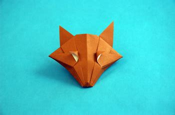 How To Make A Paper Fox Mask - origami mask tutorial origami handmade