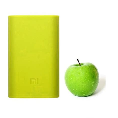 Silicon Cover For Xiaomi Power Bank 5200mah Green 5z9my5 silicon cover for xiaomi power bank 5200mah green jakartanotebook