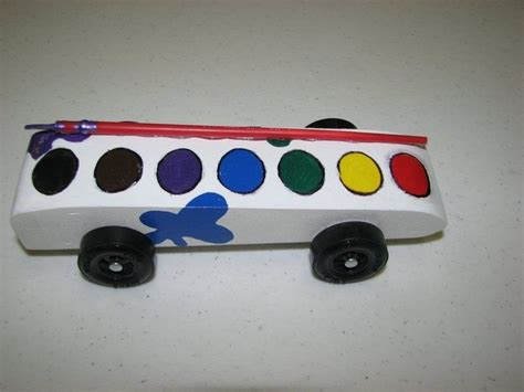 watercolor car pinewood derby cars pinterest cars