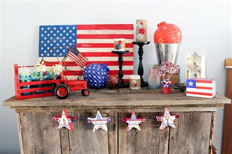 patriotic decor for home celebrate summer with patriotic d 233 cor