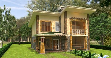 home design plans with photos in kenya 4 bedroom juja edge house plan david chola architect