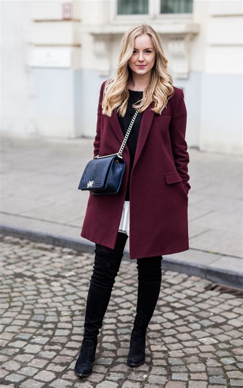 chic in thigh high boots style playground