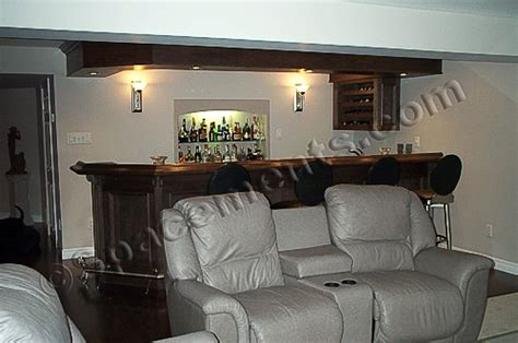 Home Theatre Room Design Layout by Finished Basement Design Home Theater Amp Wet Bar