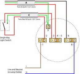 how to wire a ceiling light ceiling rose wiring diagrams