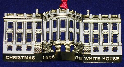 1986 white house ornament