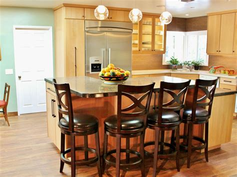 kitchen islands with seating for 3 kitchen islands with seating pictures ideas from hgtv