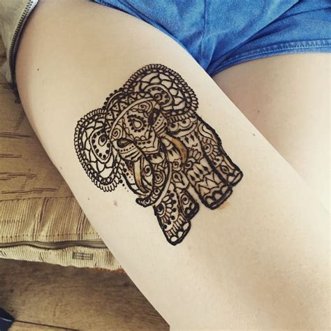 elephant henna tattoo on hand 25 best ideas about henna elephant on henna