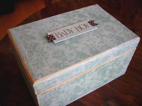 Handmade Baby Keepsake Box - handmade baby gifts