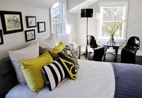 Attrayant Tapis Chambre D Enfant #2: Deco-chambre-noir-et-jaune-2.jpg