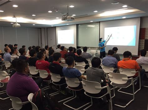 Microsoft Band Di Malaysia tech talk 2016 daniel foo