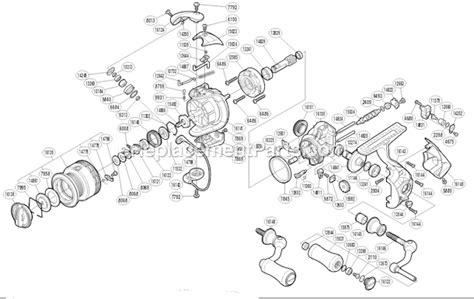 shimano stradic parts diagram shimano stci4plus1000fa parts list and diagram