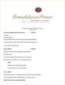8 catering proposal template timeline template
