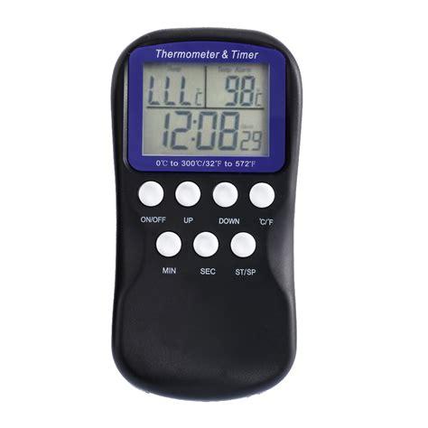 Thermometer Digital Makanan Digital Food Thermometer digital food probe oven thermometer timer temperature sensor lcd thermometer bbq