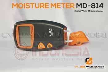 Digital Moisture Meter 4 Pin Pengukur Kelembaban 4 Pins Kayu Tembok Dl alat pengukur kadar air kayu seri md814 4pins