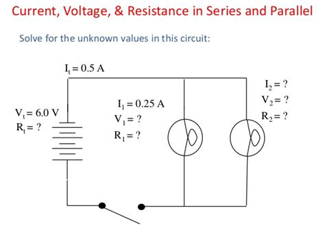 resistance in parallel series 17 resistance in series and parallel