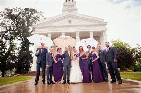 modern traditional purple  grey weddingmodern