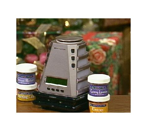 remington aromatherapy alarm clock w sound light v14624 qvc