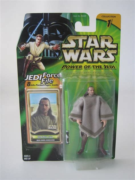 Ellorrs Madak Potj Wars Hasbro Moc wars 2001 hasbro potj power of the jedi moc qui gon jinn mos espa disguise