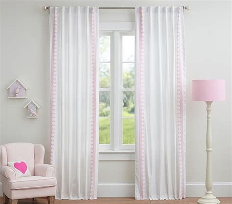 pottery barn pink curtains pottery barn pink and white curtains curtain menzilperde net