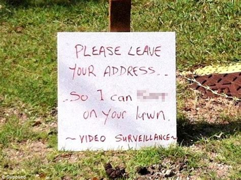 Kfed Leaves One Last Note by Coast Homeowner Leaves Angry Note To Pet Owners