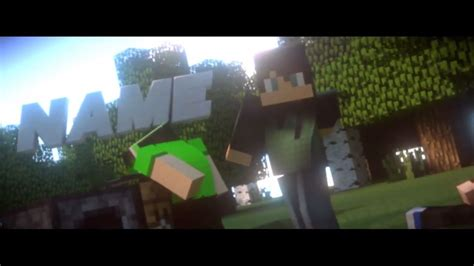minecraft intro template blender 10 topfreeintro com gt gt 21
