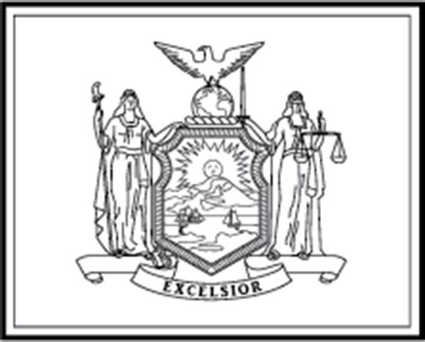 the gallery for gt new york flag coloring page