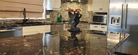 Center Island Kitchen Ideas Titanium Granite Countertops Natural Stone City