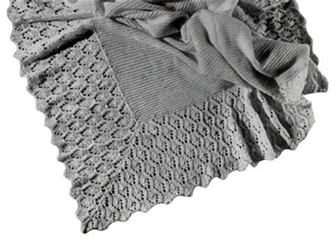 Baby Blanket Knitting Patterns Uk by Vintage Baby Blanket Knitting Patterns Crochet And Knit