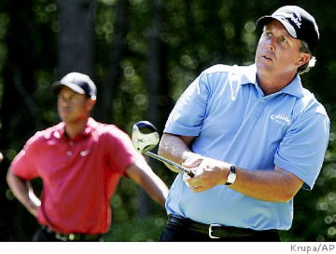 a look at phil mickelsons hair over theyears mickelson tops tiger at deutsche ny daily news