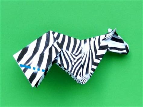 Origami Zebra - origami zebra 28 images origami zebra designed by
