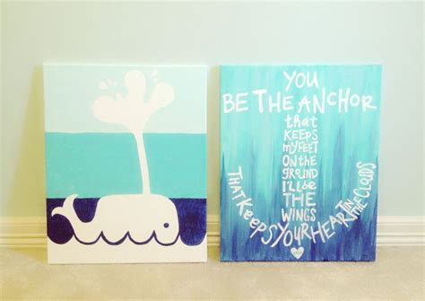 Beach themed canvas paintings crafts pinterest