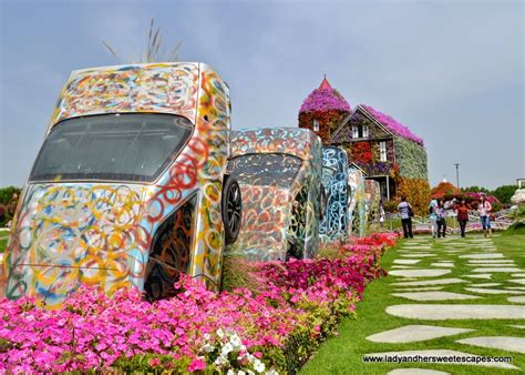 the all new dubai miracle garden lady amp her sweet escapes