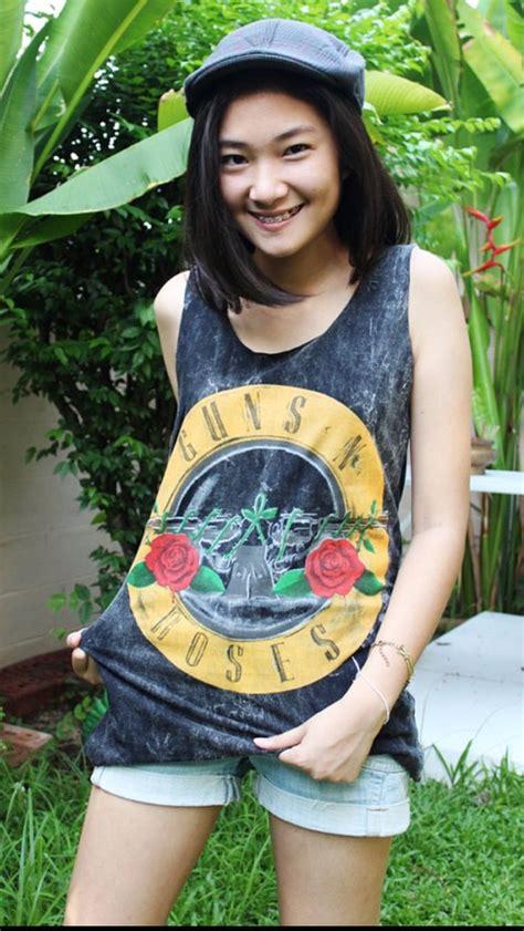 Bra Tank Top Genie Singlet Dengan Cup Bh Ba Berkualitas guns n roses tank top shirt summer singlet t shirt dress retro rock s m