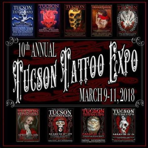 tucson tattoo expo 10th annual tucson expo