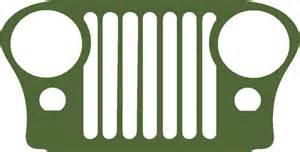 jeep cj grill logo m38 m38a1 cja2 cj3 cj5 cj7 cj jeep grill decal sticker ebay