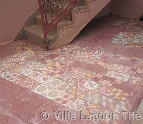 Moroccan Patchwork Tiles - moroccan cement tile villa lagoon tile