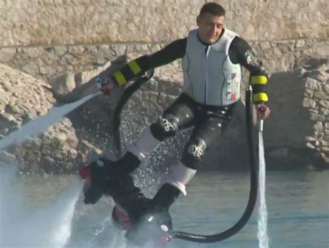 awesome flyboard water jet boots unveiled