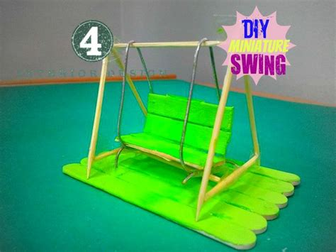 swing craft diy mini swing craft and fun pinterest