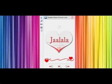 jaalala oromoo love messages android app on appbrain