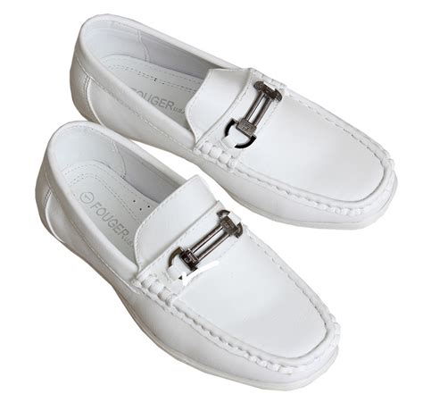 white dress shoes for toddler white slip on dress shoe loafers toddler to boys